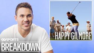 Pro Golfer Brooks Koepka Breaks Down Golf Scenes from Movies | GQ Sports
