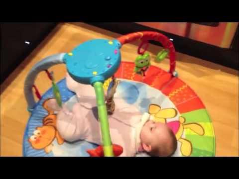 משטח פעילות - Bubble Gym Playmat