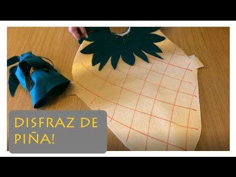 Disfraz de frutas para niños ¨Disfraz de Piña¨ 🍍