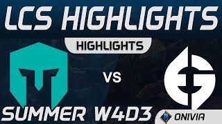 IMT vs EG Highlights LCS Summer 2020 W4D3 Immortals vs Evil Geniuses by Onivia