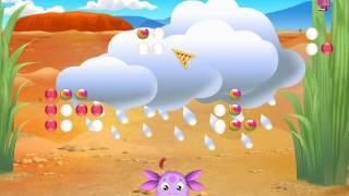 Лунтик - Пустыни мира. Обучающий мультфильм для детей .