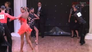 Nikita Pavlov - Dariia Palyey, 1/8 Samba