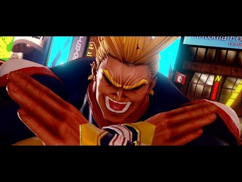 All Might DLC Trailer de Jump Force