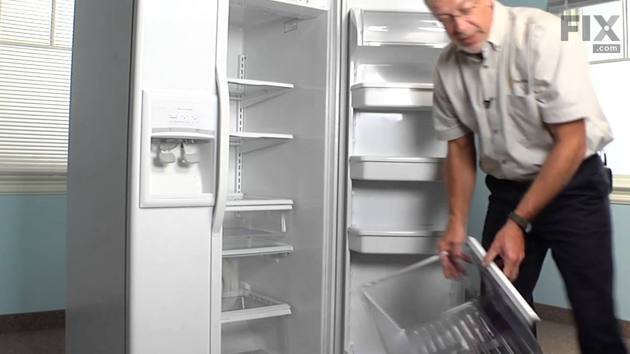 Replacing your Whirlpool Refrigerator Refrigerator Crisper Drawer with Humidity Control