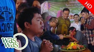 Tangis Adul Di Syukuran Sinetron Samson Dan Dahlia - Waswas 27 Mei 2015