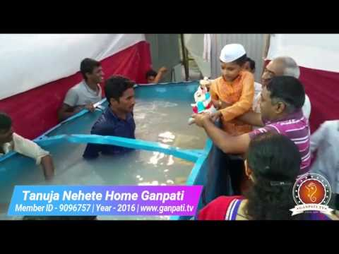 Tanuja Nehete Home Ganpati Decoration Video