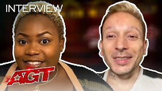 Cristina Rae and Alan Silva Thank YOU for Connecting With Their Stories! - America's Got Talent 2020 thumbnail