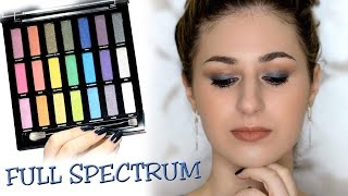 Glam Navy Cut Crease | Full Spectrum Palette | Urban Decay - Video Youtube