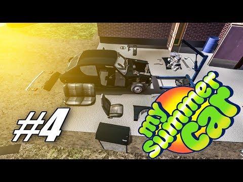 My Summer Car | #4 Motor na svém místě [CZ/1080p]
