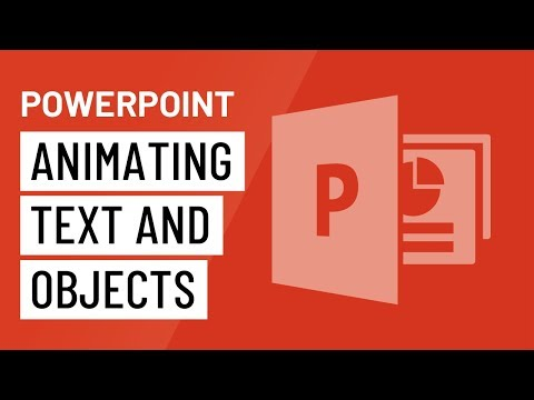 PowerPoint: Animating Text and Objects