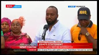 Mombasa Governor Hassan Joho's full statement on alleged  forged documents