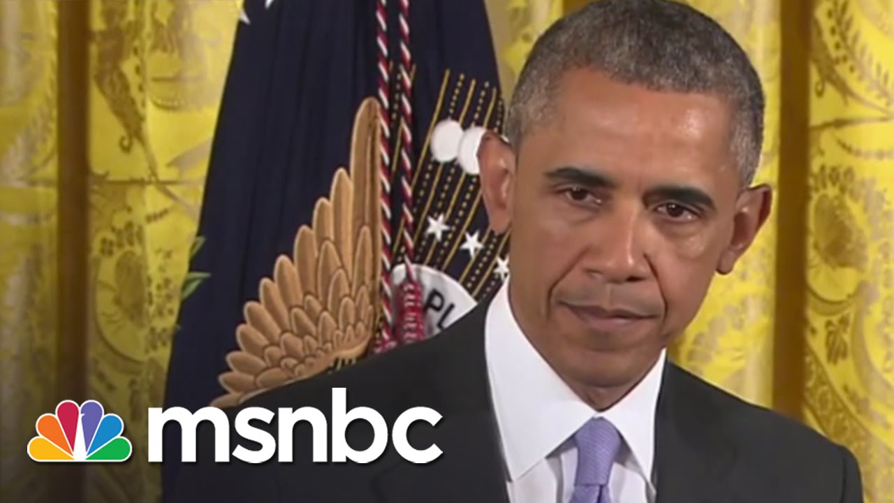 President Obama Defends Iran Nuclear Deal | msnbc thumbnail