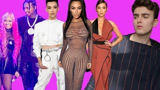 Reacting to People's Choice 2018 Fashion (shay mitchell a mess & james charles nipple rings)
