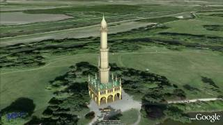preview picture of video 'Liechtenstein´s Minaret 1797-1804 Eisgrub · Lednice Garden of Europe · Unesco Czech Heritage'