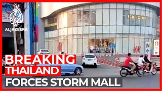 Thai forces storm shopping centre after gunman kills at least 20