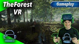 The Forest VR - Wie spielt es sich? Lohnt es sich in VR? [Gameplay][Vive Pro][Virtual Reality]