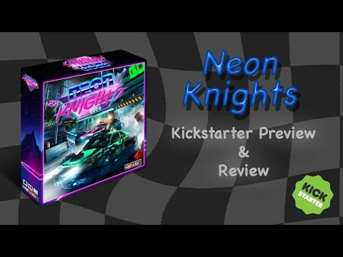 Neon Knights Preview, Playthrough, and Review