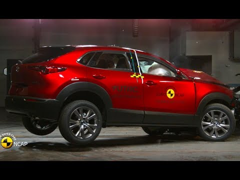2020 Mazda CX-30 – Excellent results in crash test / Mazda well done !!