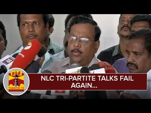 NLC-Tri-partite-Talks-fail-again--Thanthi-TV