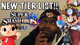 New Official Tier List [Feb]! Super Smash Bros. for Wii U (/r/smashbros) ~ Smash Bros 4 Tier list