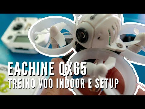 Review Setup Eachine QX65 em português