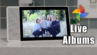 Create Google Photos Live Albums & Add to Chromecast or Smart Display