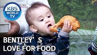 Bentley's love for food: Bentley Mukbang [Editor's Picks / The Return of Superman]