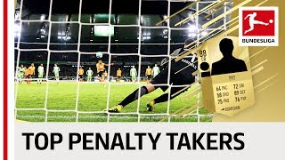 EA SPORTS FIFA 18 - Top 10 Penalty Takers - James, Lewandowski, Reus & More