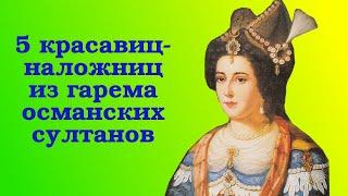 5 красавиц из гарема османских султанов