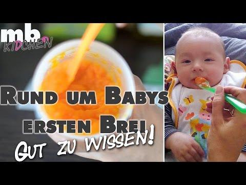 Einführung Babybrei | Wann? Wie? Warum? | Beikost selber kochen | mamiblock kidchen - Der Mami Blog