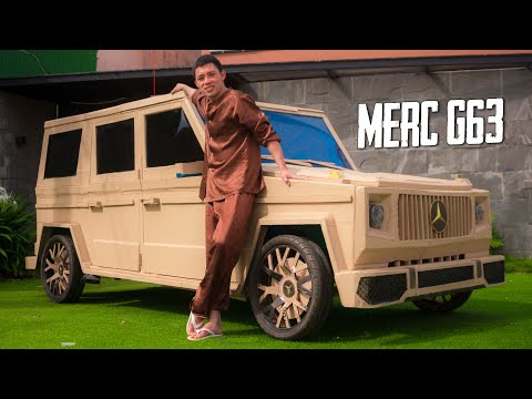 Can You Build a Mercedes G-Wagon with Cardboard?