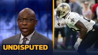 Eric Dickerson on Adrian Peterson: 'Shouldn't be surprised' about lack of touches | UNDISPUTED