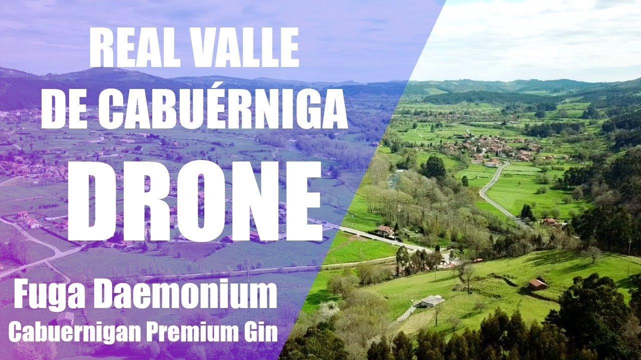 Real Valle de Cabuérniga en Cantabria   DRONE   FUGA DAEMONIUM CHRYSALIS