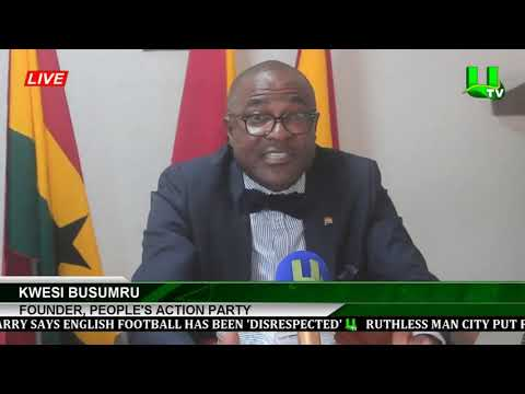'This Is Not The Time To Compile A New Voters Register ' - Kwesi Busumru
