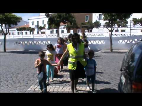 As crianças em trânsito...em Campo Maior
