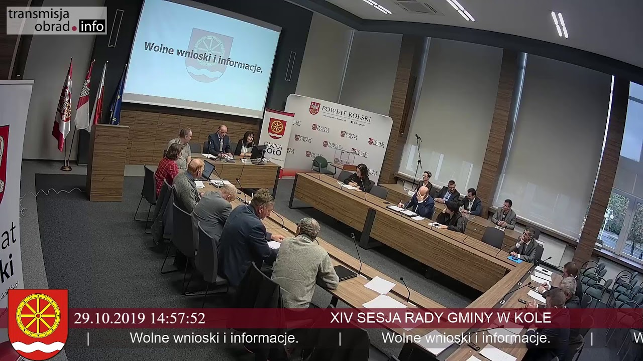 Zdjęcie do XIV Sesja Rady Powiatu Kolskiego