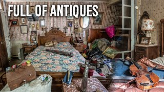 Charming Abandoned Home Of A French Violinist - Full Of ANTIQUES!
