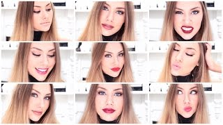 My TOP 10 Favourite M.A.C Lipsticks + SWATCHES  ♥ Stephaniemaii ♥