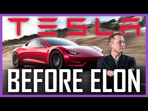 Tesla před příchodem Elona