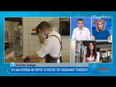 'Ερευνα για το πασχαλινό τραπέζι | Πόσο λιγότερο ψωνίζουν οι Έλληνες; | 15/04/2020 | ΕΡΤ