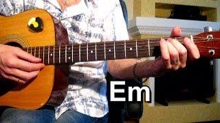 Смотреть онлайн Как играть на гитаре песню группы «Многоточие»