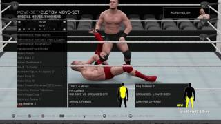 WWE 2K17 Video: All NEW Finishing Moves Animations and Full List!