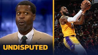 Stephen Jackson joins Skip Bayless and Shannon Sharpe on today's show to talk NBA. Not only does he give LeBron James a high grade for his performance, but hear why the Los Angeles Lakers supporting cast deserves blame.  #Undisputed #NBA #LeBron #Lakers  SUBSCRIBE to get the latest UNDISPUTED content: http://foxs.pt/SubscribeUNDISPUTED  ▶Watch our latest NFL content: http://foxs.pt/NFLonUNDISPUTED ▶Watch our latest NBA content: http://foxs.pt/NBAonUNDISPUTED ▶Watch our latest MLB content: http://foxs.pt/MLBonUNDISPUTED  ▶First Things First: Cris Carter and Nick Wright's YouTube channel: http://foxs.pt/SubscribeFIRSTTHINGSFIRST ▶The Herd with Colin Cowherd's YouTube channel: http://foxs.pt/SubscribeTHEHERD ▶Speak for Yourself's YouTube channel: http://foxs.pt/SubscribeSPEAKFORYOURSELF  See more from UNDISPUTED: http://foxs.pt/UNDISPUTEDFoxSports Like UNDISPUTED on Facebook: http://foxs.pt/UNDISPUTEDFacebook Follow UNDISPUTED on Twitter: http://foxs.pt/UNDISPUTEDTwitter Follow UNDISPUTED on Instagram: http://foxs.pt/UNDISPUTEDInstagram  Follow Skip Bayless on Twitter: http://foxs.pt/SkipBaylessTwitter Follow Shannon Sharpe on Twitter: http://foxs.pt/ShannonSharpeTwitter  About Skip and Shannon: UNDISPUTED: UNDISPUTED is a daily two-and-a-half hour sports debate show starring Skip Bayless and Shannon Sharpe. Every day, Skip and Shannon will give their unfiltered, incisive, passionate opinions on the biggest sports topics of the day.  Stephen Jackson gives LeBron an 'A' in the Lakers' 126-111 loss to the Rockets | NBA | UNDISPUTED https://youtu.be/kwqWL76AaVU  Skip and Shannon: UNDISPUTED https://www.youtube.com/c/UndisputedOnFS1