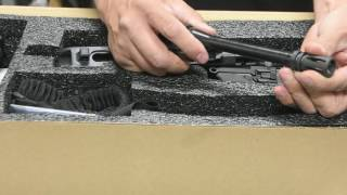 Sig Sauer MPX Takedown Before & After Threaded HD