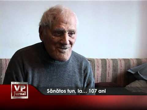 Sănătos tun, la… 107 ani