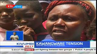 Tension in Kawangware after a night of retaliatory attacks between rival groups