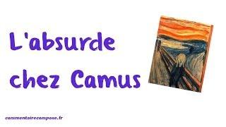 Camus Et L'absurde En 4mn
