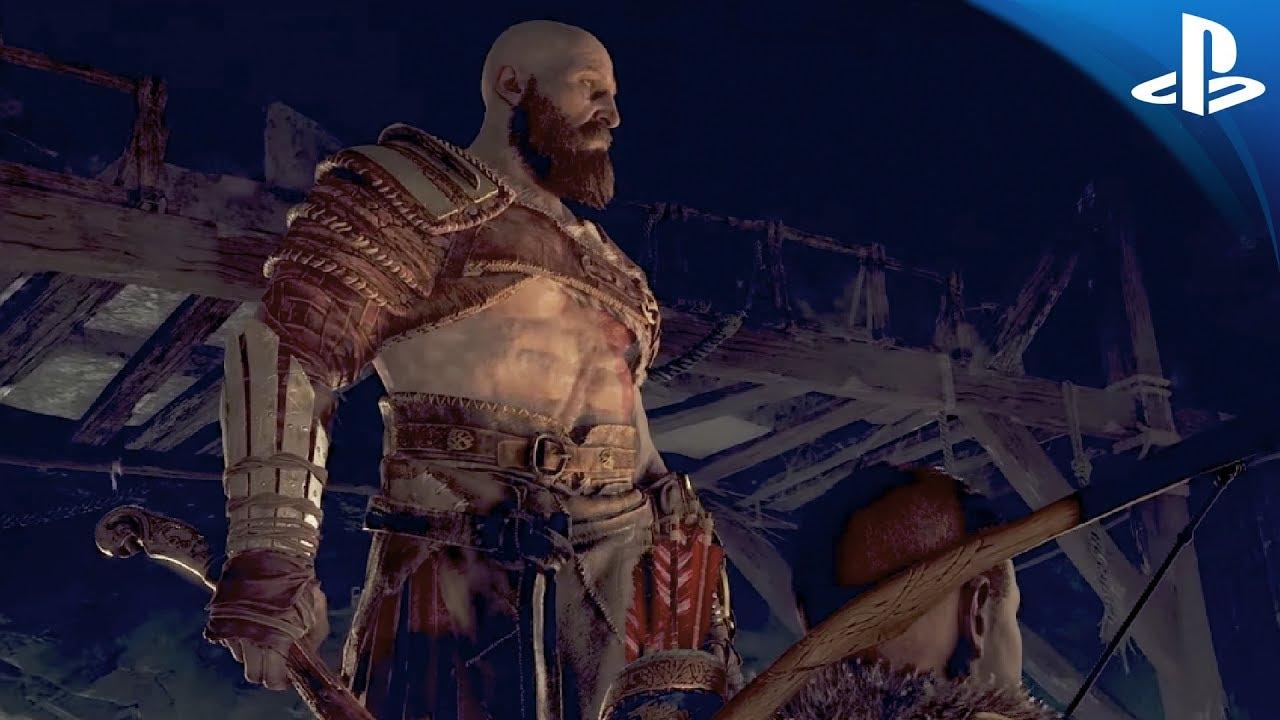 #PlayStationPGW | El nuevo vídeo de God of War muestra cómo Atreus y Kratos se alían en la batalla