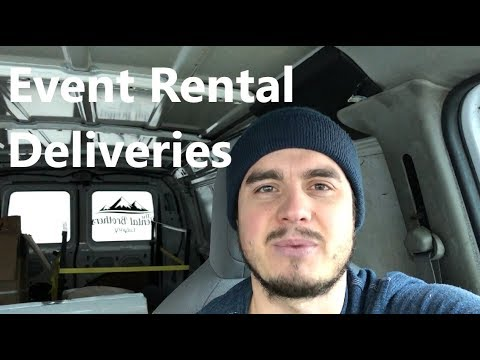 Delivery Tips - Growing Event Rental Business