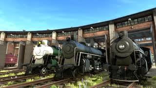 A couple of Skins i made for Derail valley